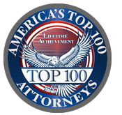 Americas Top 100 Attorneys Badge