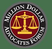 Million Dollar Advocates Forum Badge